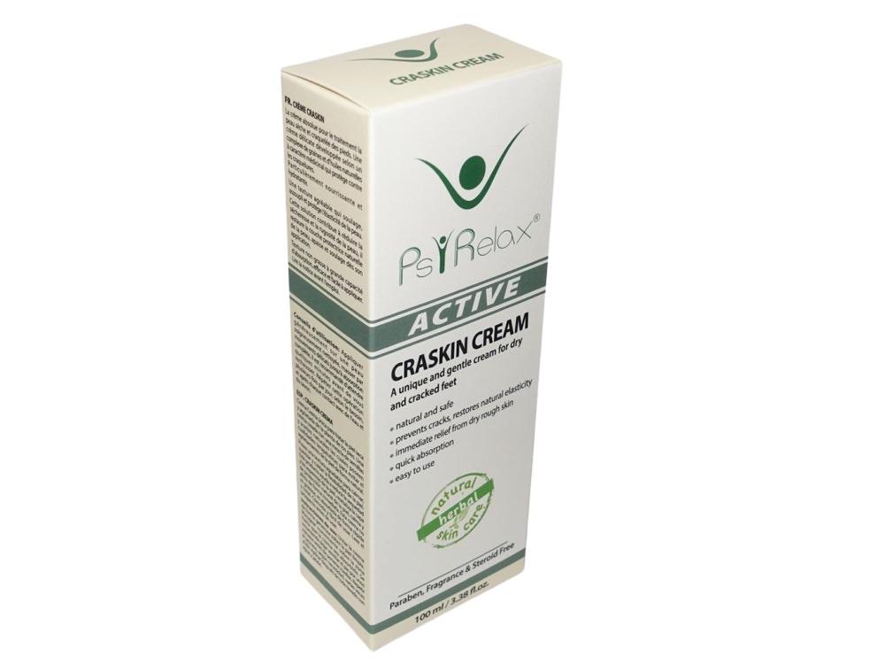 Craskin Cream הינו קרם ייחודי ועדין לטיפול בעור יבש וסדוק במיוחד בכפות הרגליים