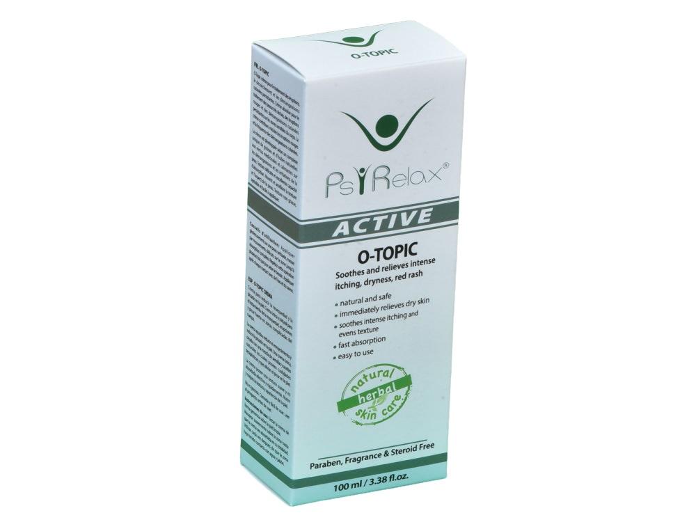 קרם טיפול טבעי באטופיק דרמטיטיס - O-Topic ייחודי לטיפול ביובש, תפרחת אדומה וגרד עז בעור