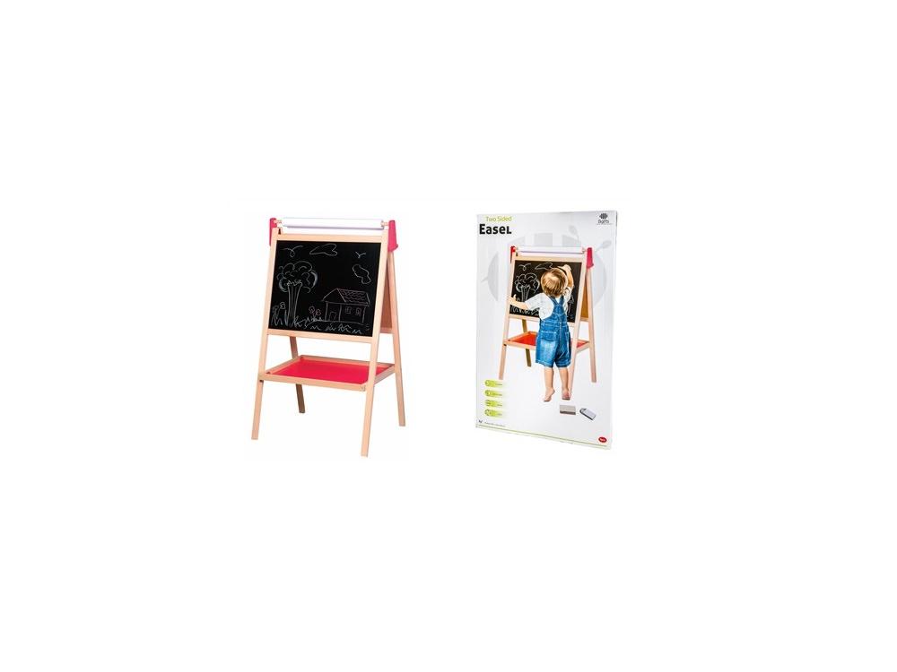 לוח ציור לילדים - דו צדדי מעץ
