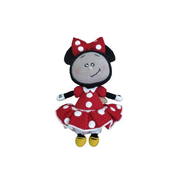 """בובה בעבודת יד בוני Bonnie בדמות מיני מאוס 35 ס""""מ"""