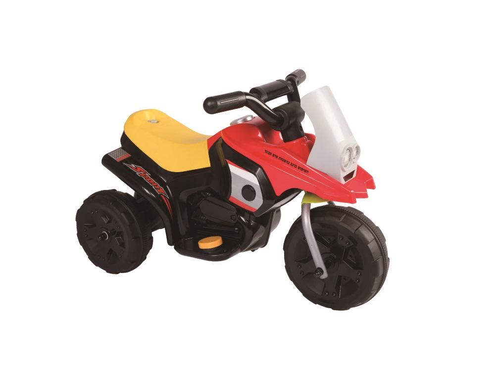 אופנוע ממונע לילדים - האופנוע הראשון שלי JUCK