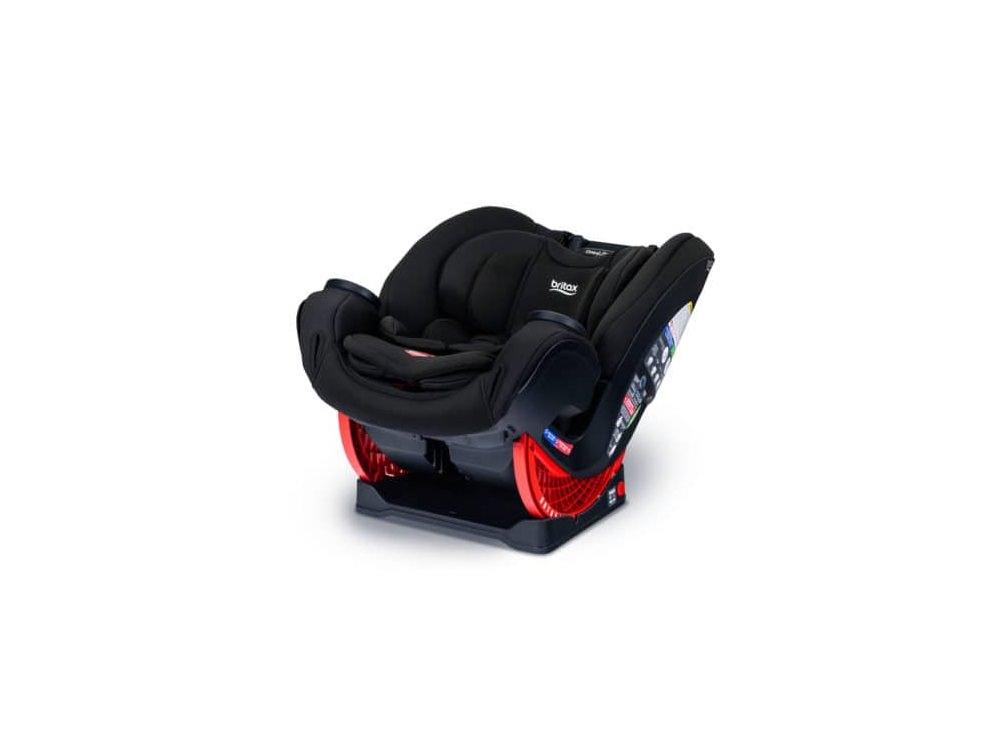 כיסא בטיחות משולב בוסטר מלידה ועד גיל 10 One4Life ClickTight שחור