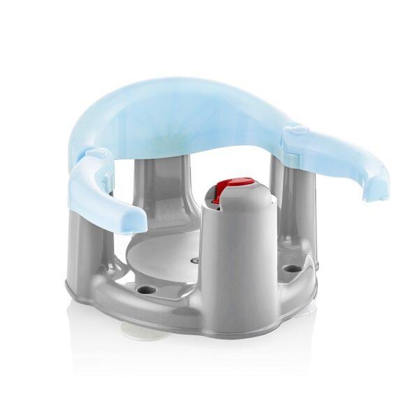 טבעת אמבטיה נפתחת לתינוק בצבע כחול