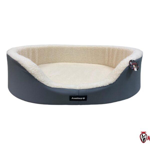 מיטה מרופדת לכלב