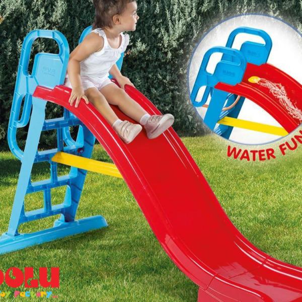 מגלשת ילדים גדולה עם אפשרות חיבור למים Dolu Toys