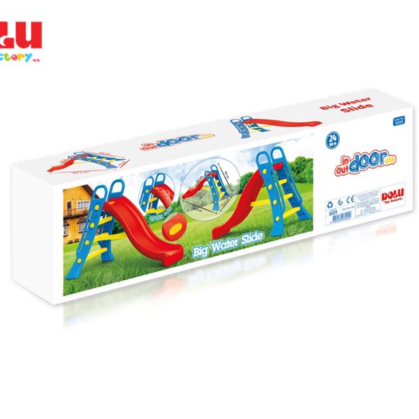 מגלשה גדולה לילדים עם אפשרות חיבור למים Dolu Toys