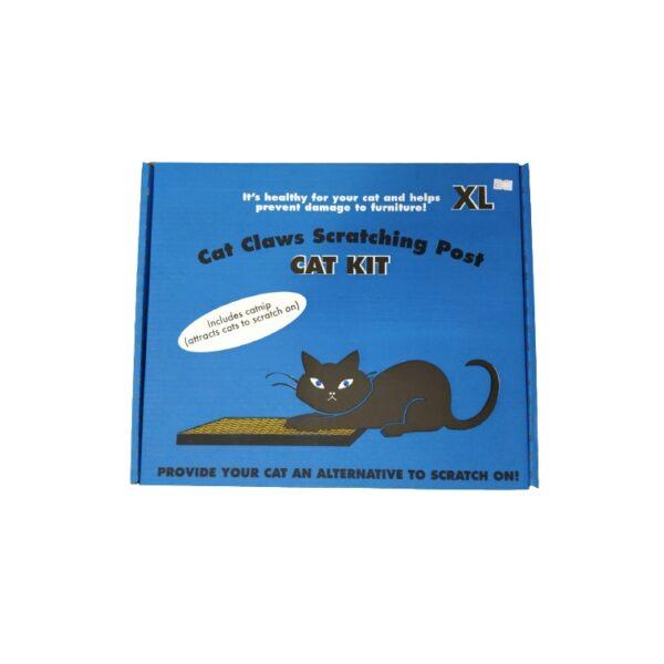 משטח קרטון גירוד לחתול בגודל XL עם קטניפ CAT KIT