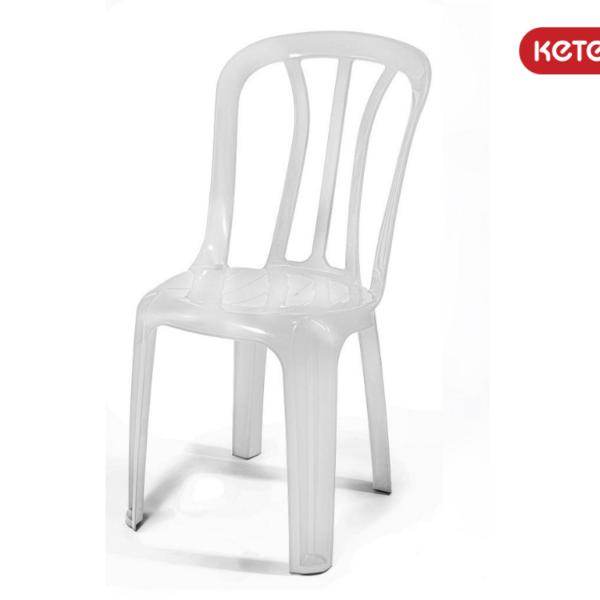כסא פלסטיק קלאב 2 CLUB כתר - צבע לבן