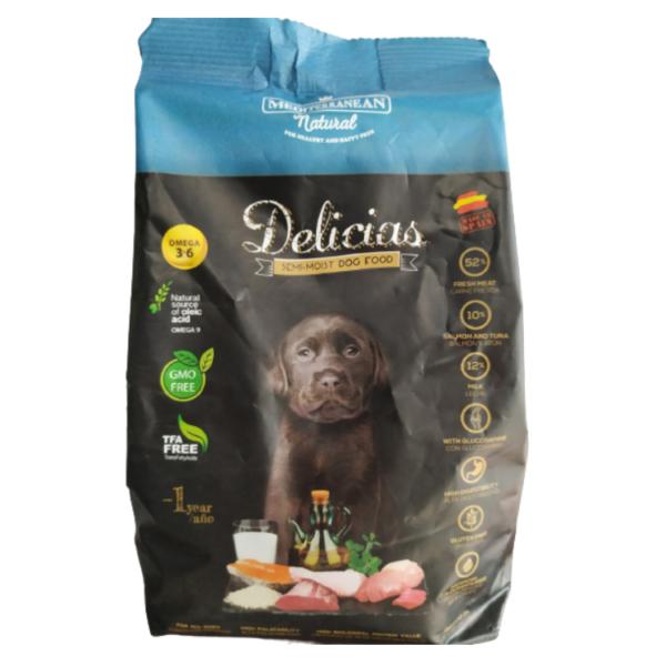 דלישס מזון לכלב / חטיף משלים 800 ג''ר Delicias (ספרד)