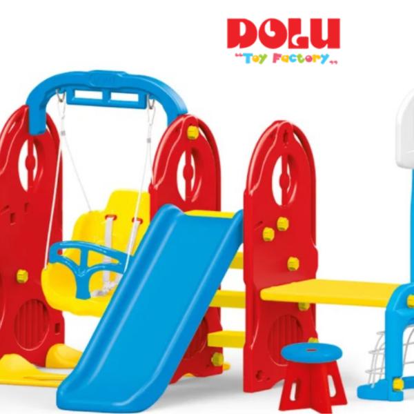 מגרש המשחקים הביתי 7 ב-1 Dolu Toys
