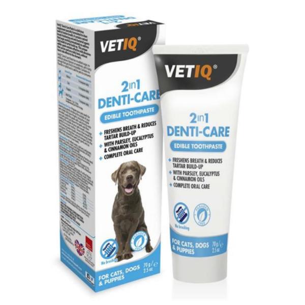 משחת שיניים אנטיבקטריאלית לכלבים ללא צחצוח 70 גרם