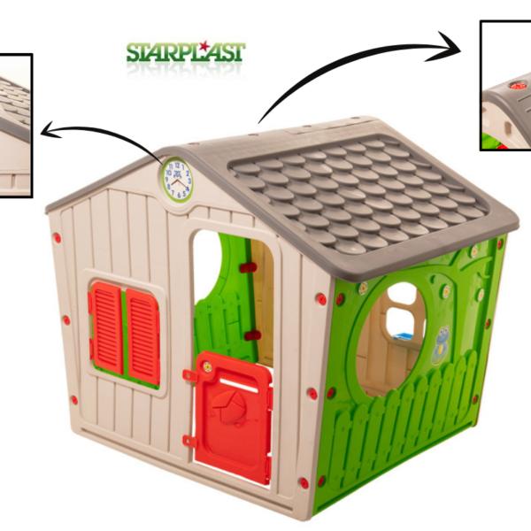 בית משחקים לילדים - בית הכפר הגלילי STAR PLAST