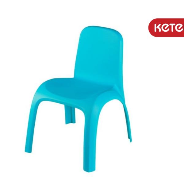 כיסא גילי - תכלת - מבית כתר פלסטיק