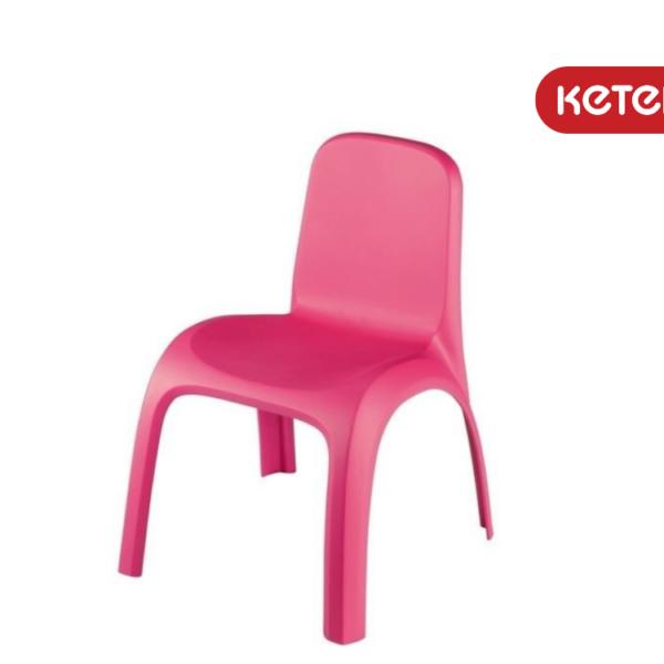 כיסא גילי - ורוד - מבית כתר פלסטיק