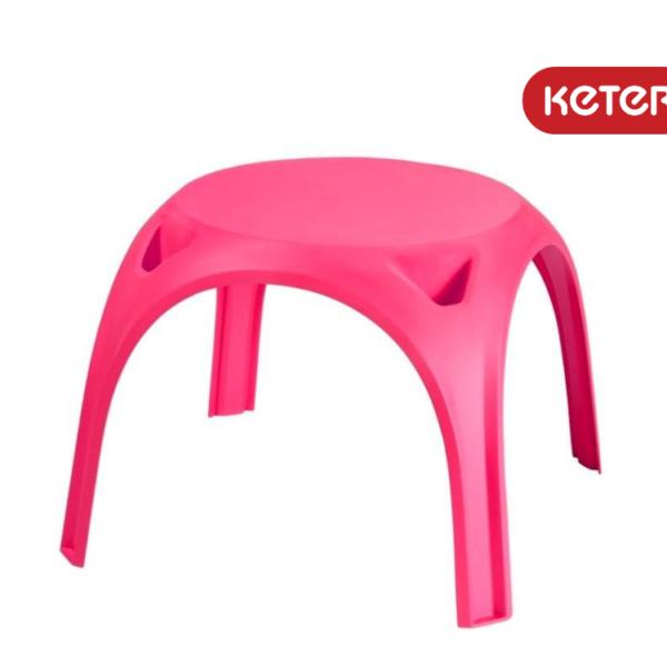 שולחן גילי - ורוד - מבית כתר פלסטיק