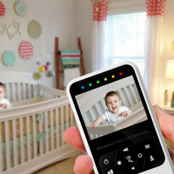 וידאו מוניטור לתינוק מבית HISENSE דגם V24RIL