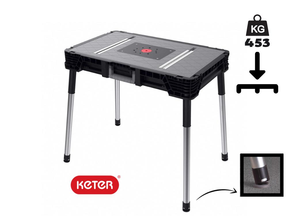 """שולחן עבודה נייד ג'וב מייד (Jobmade)מבית """"KETER"""""""