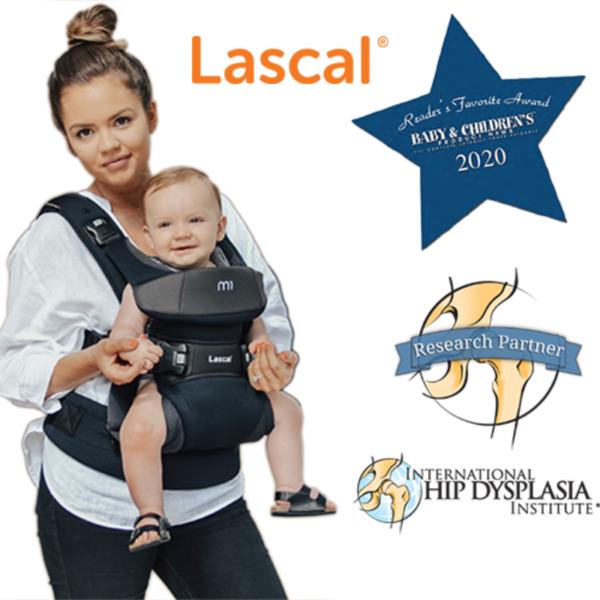 מנשא לתינוק ™Lascal m1Carrier עם 3 תנוחות נשיאה