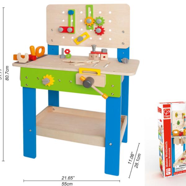 שולחן עבודה מעץ לילדים 'מאסטר' מבית HAPE