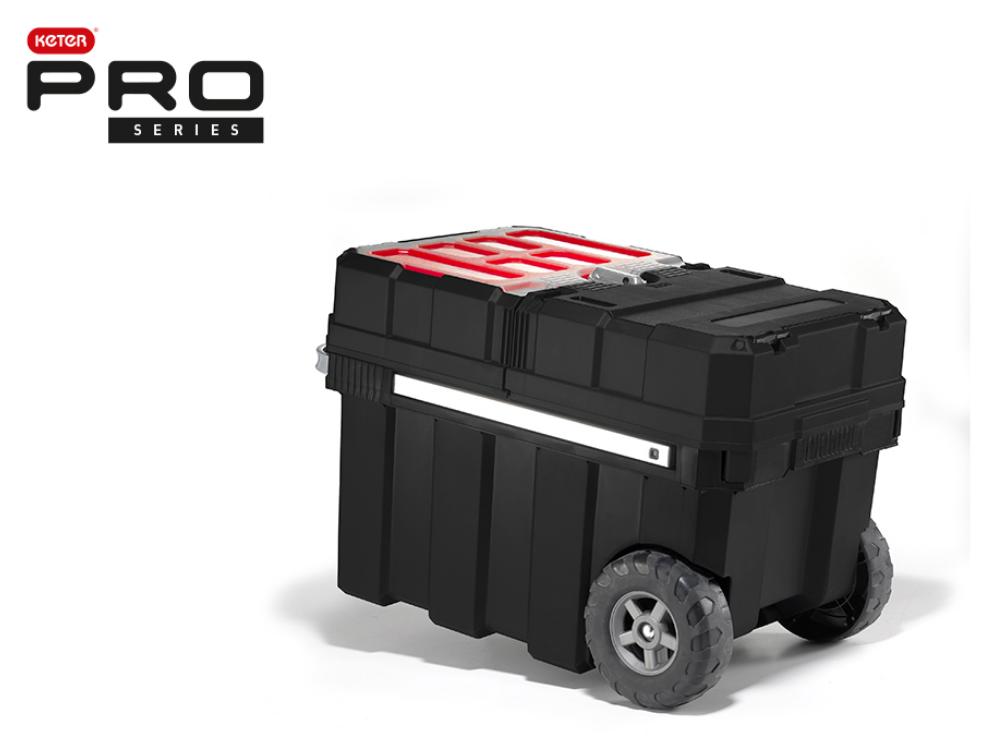 מסטרלאודר PRO - ארגז כלים מקצועי על גלגלים מבית כתר