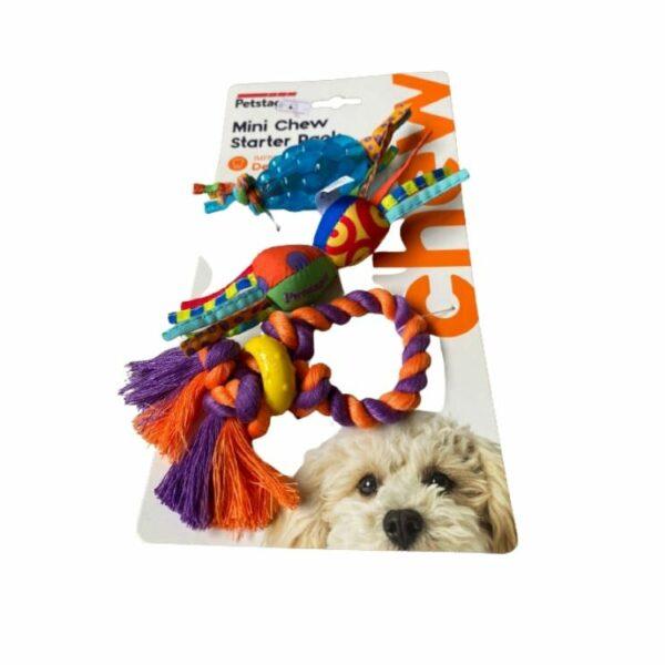 מארז 3 צעצועים לכלב
