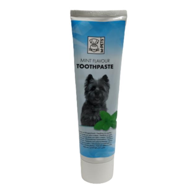 משחת שיניים לכלב בטעם מנטה M-Pets