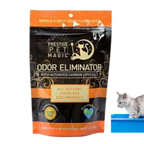 מנטרל ריחות ארגז חול לחתול עם גבישי פחם פעיל 226 גרם