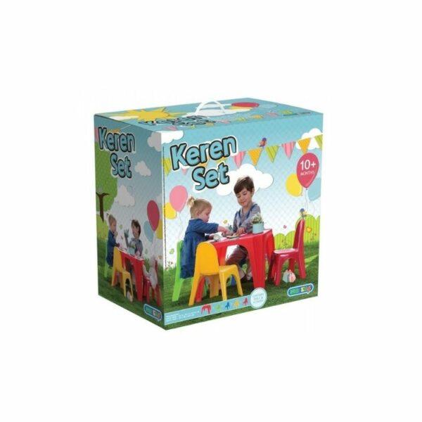 שולחן וכיסאות לילדים