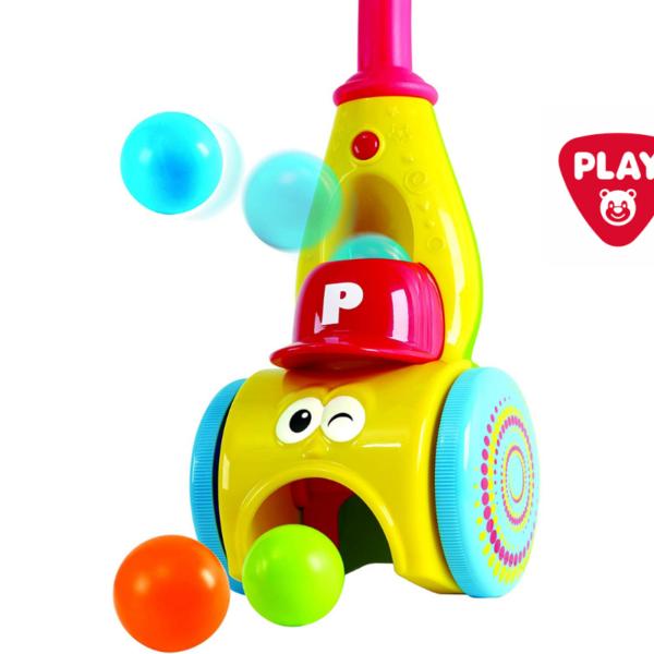 אוסף ומשגר כדורים דמוי שואב אבק – Playgo