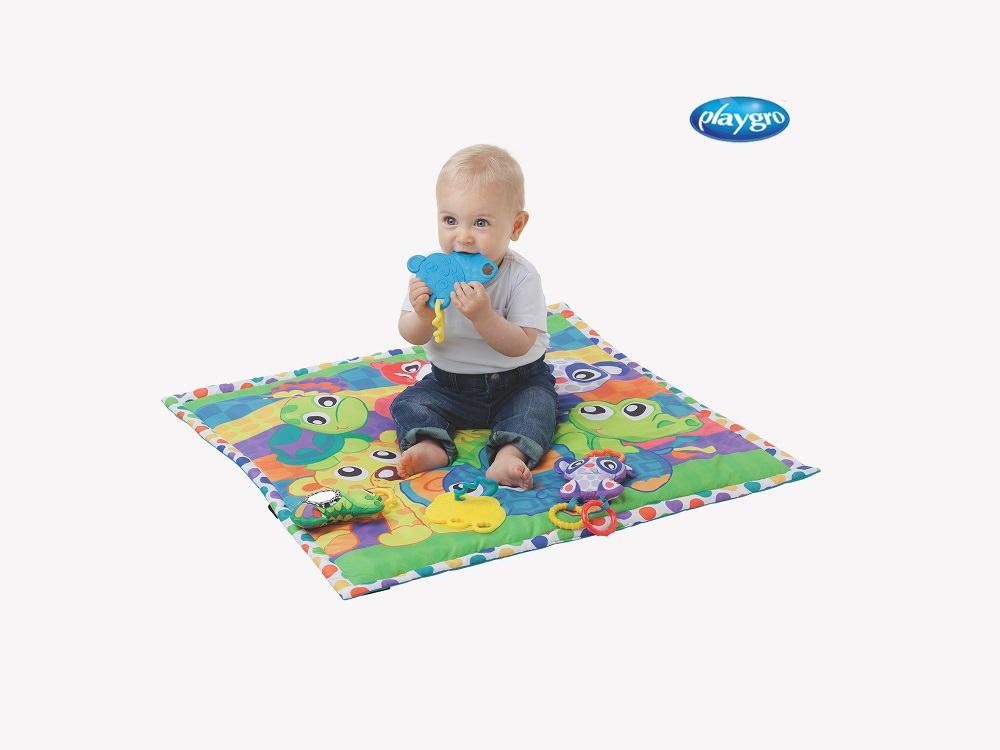 משטח פעילות לתינוק Playgro אוניברסיטת החיות פלייגרו