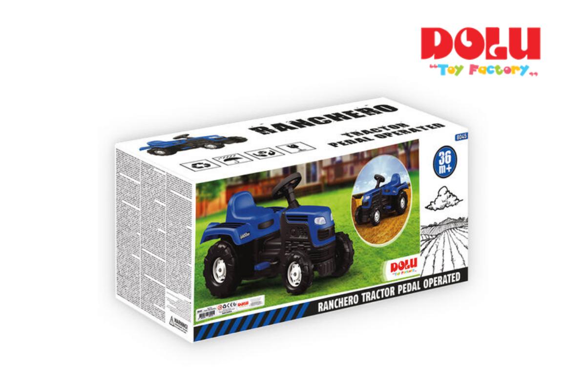 טרקטור פדלים לילדים RANCHERO מבית Dolu Toys