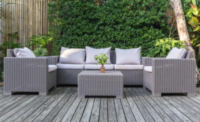 ריהוט גן - מערכות ישיבה וארונות לגינה ולמרפסת