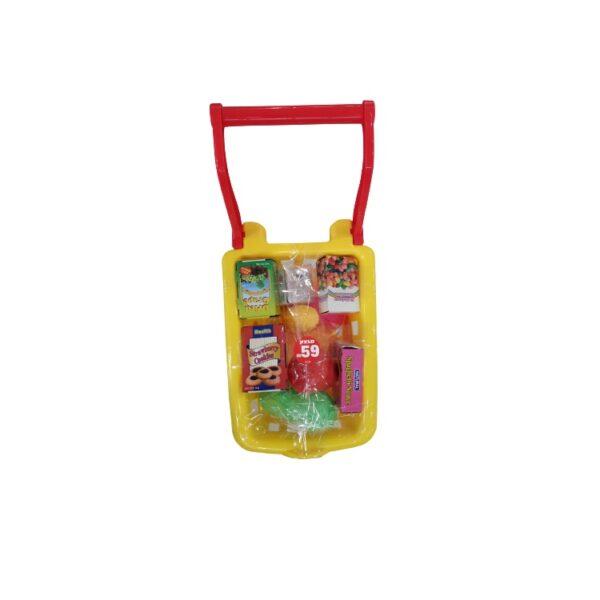 עגלת סופר פלסטיק לילדים