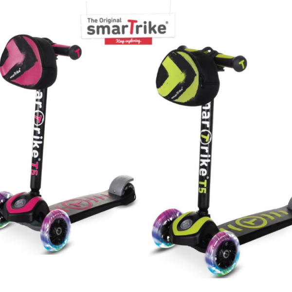 קורקינט לילדים דו שלבי (3 גלגלים) Scooter T5 מבית smarTrike