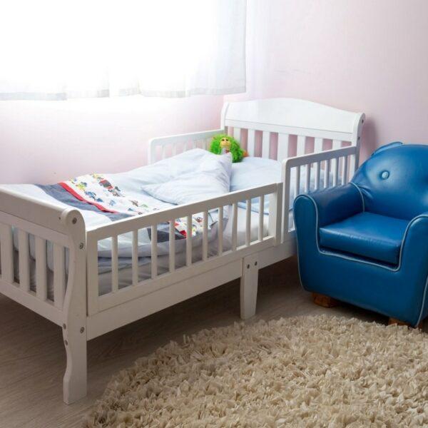 מיטת מעבר שקד לבן