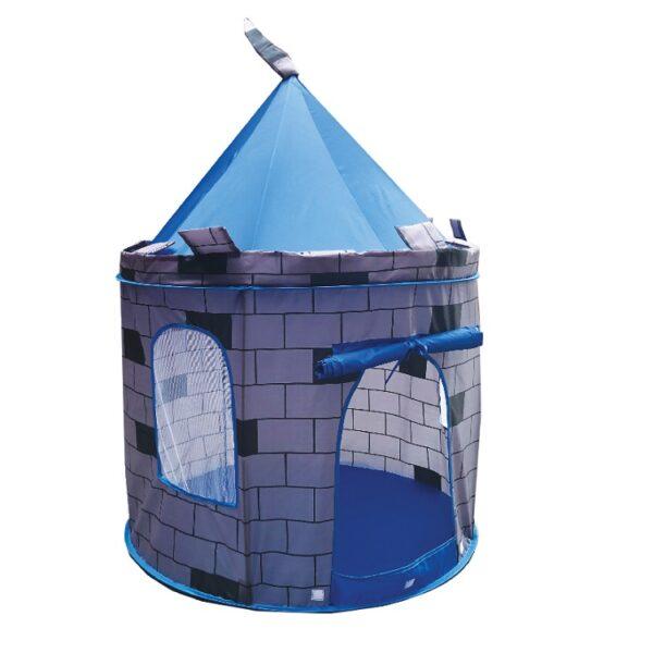 אוהל טירה כחול