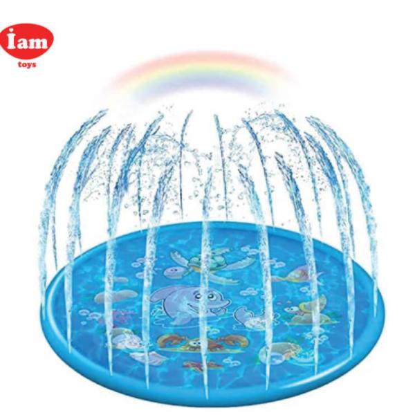 """מזרקת מים לילדים IAM דגם חיות ים קוטר 150 ס""""מ"""