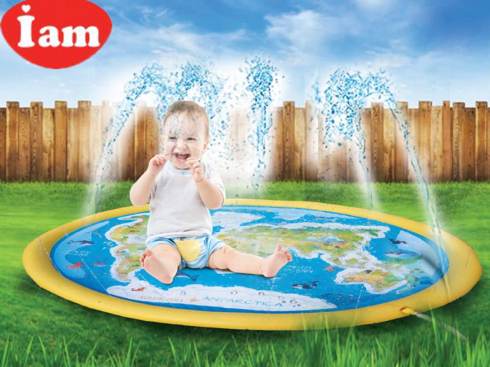 """מזרקת מים לילדים IAM דגם אוקינוס קוטר 180 ס""""מ"""