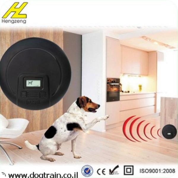 גדר חשמלית לכלב ללא כבלים - לפנים הבית עם קולר נטען
