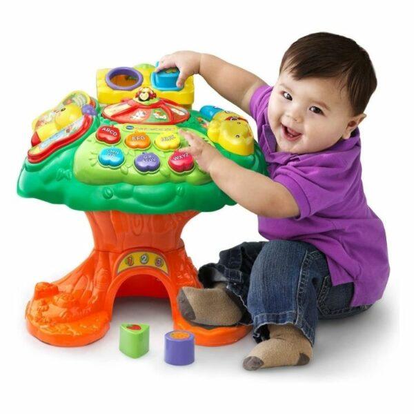 שולחן פעילות עץ לילדים