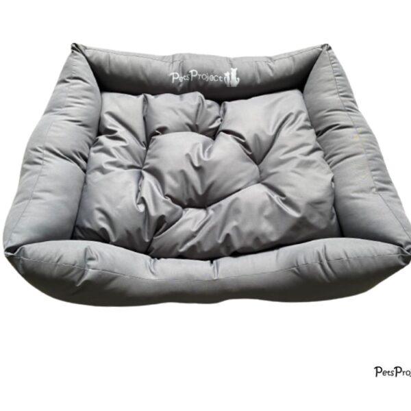 מיטה לחיות מחמד בצבע אפור